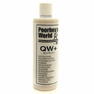 Poorboy's World Quick Wax 473ML Plus Płynny Wosk Quick Detailer