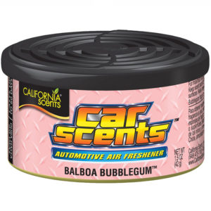California Car Scents Puszka Zapachowa Odświeżacz Powietrza Balboa Bubblegum 42G