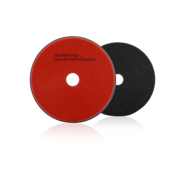 Koch Chemie Heavy Cut Pad 76x2mm Czerwony Twardy Pad Polerski