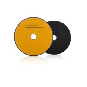 Koch Chemie Fine Cut Pad 126x23mm Żółty Średnio Twardy Pad Polerski