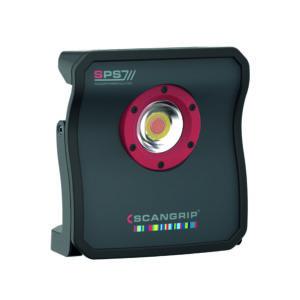 Scangrip MULTIMATCH 8 Lampa Robocza Led z Akumulatorem Inspekcyjna 5 Barw, Sterowana ze Smartfona
