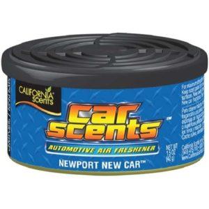 California Car Scents Puszka Zapachowa Odświeżacz Powietrza NewPort New Car 42G