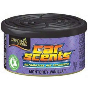 California Car Scents Puszka Zapachowa Odświeżacz Powietrza Monterey Vanilla 42G