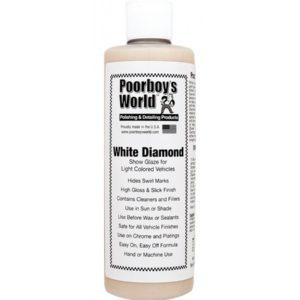 Poorboy's World White Diamond Show Glaze 437ML Politura do Jasnych Lakierów