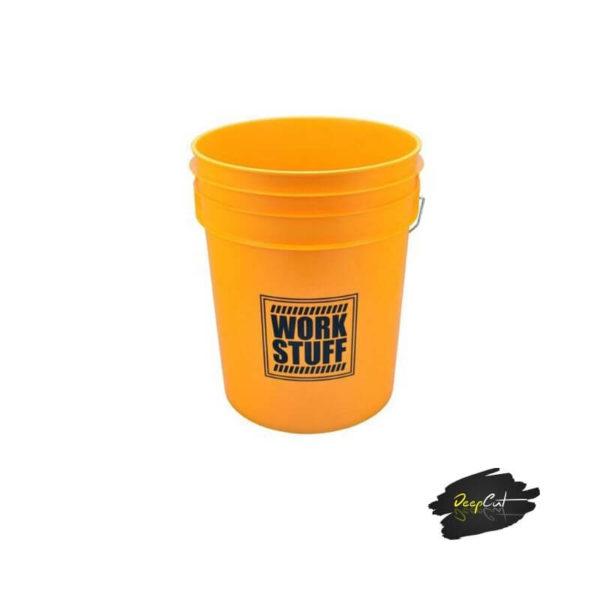 Work Stuff - Wiadro żółte do mycia